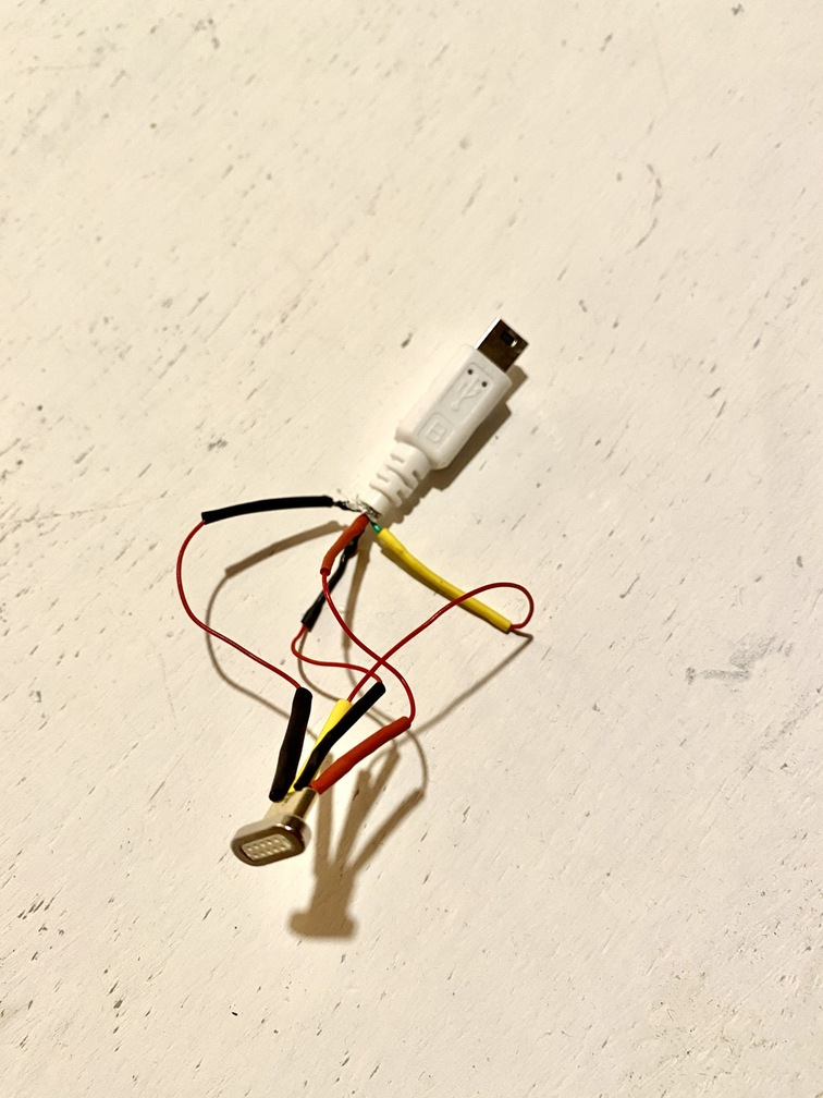 The finished connector